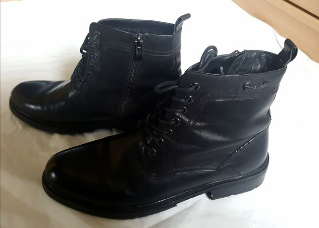 Buty trzewiki Kazar Tinsulate skóra sznurowane i na zamek