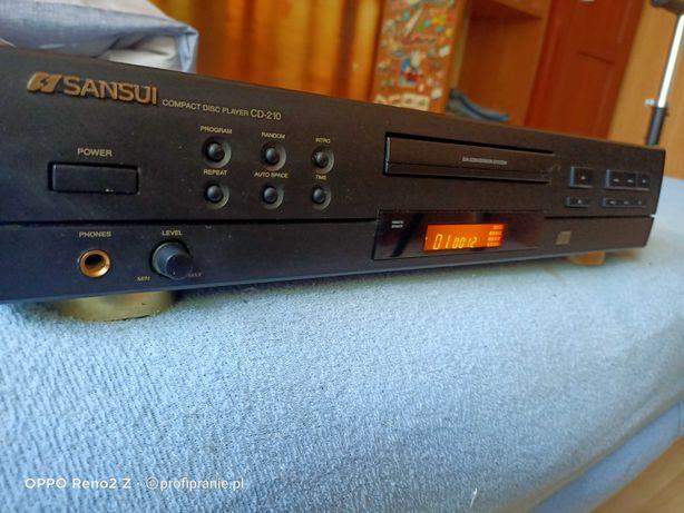 Odtwarzacz CD Sansui CD-210 stan bdb. Wysyłka
