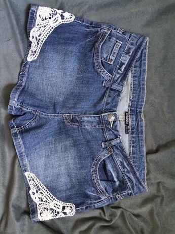 Spodenki jeansowe