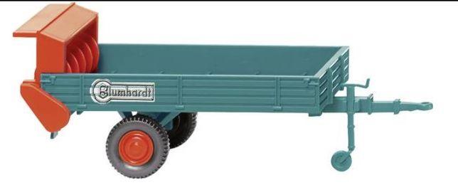 Model pojazdu rolniczego Blumhardt Rozrzutnik Wiking 088703 H0
