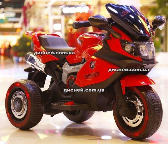 Детский мотоцикл электромобиль ДДЦ3680 BMW, Дитячий електромобiль