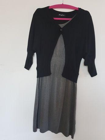 Ciepła sukienka ze sweterkiem 42 /44