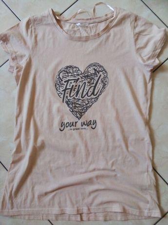 Wyprzedaż szafy  nowa koszulka pepco pudrowy róż L