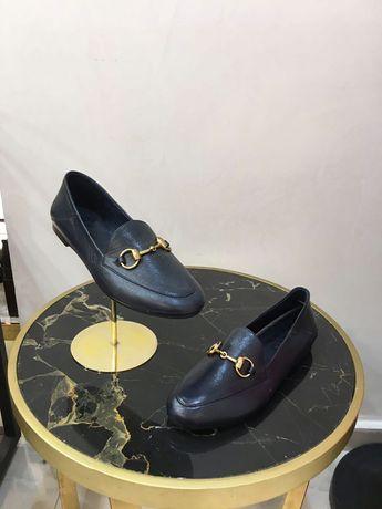 Новые кожаные турецкие туфли , лоферы фирмы Bate