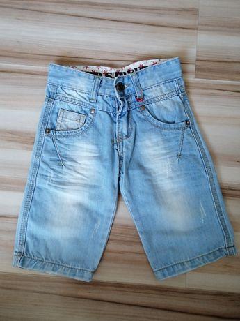 Szorty/krótkie spodenki jeans 98/104 - 3 latka