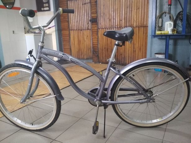 Велосипед  круизер женский алюминиевый 16 кг.