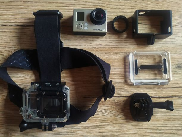 Kamera Gopro 3 + akcesoria