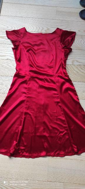 Czerwona sukienka R.14