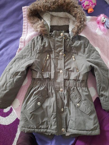 Деми курточка парка 6 - 7 лет рост 116 -122