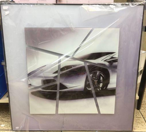 3D Пано, картина авто