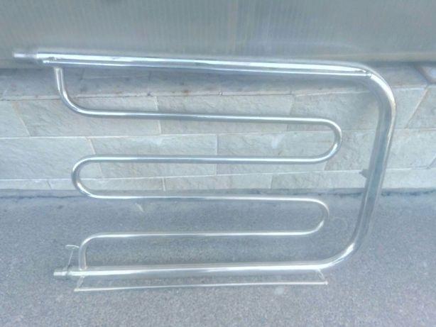 полотенцесушитель сушка хромированный 800 мм на 520 мм с перилками