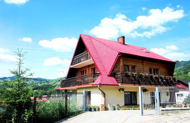 ,, u Uli'' kwatery i domek w Piwnicznej / lato / weekend w górach