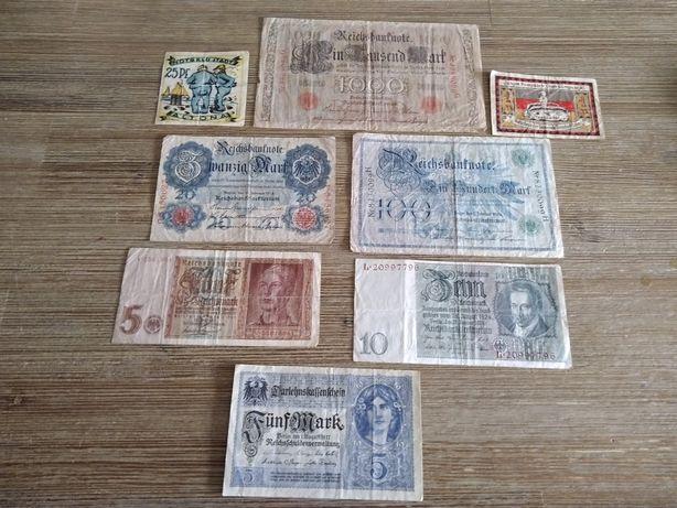 Odsprzedam banknoty ze zdjęć