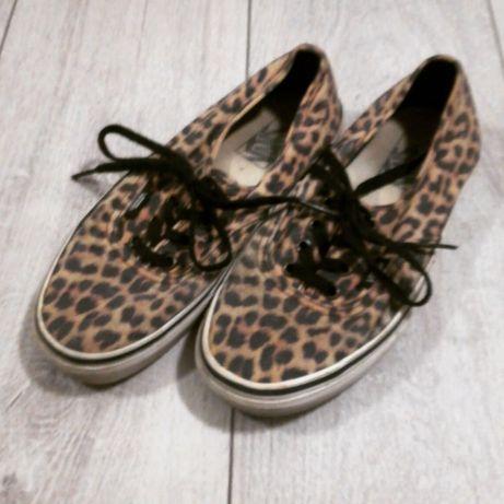 Vans vansy cheetah panterka grunge 38 oryginalne