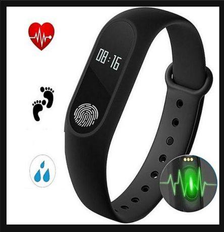Фитнес браслет-часы Mi band 2