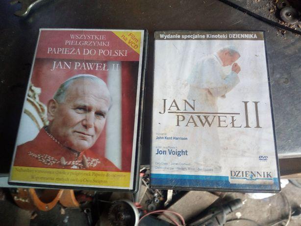 dwie płyty Jan Paweł 2