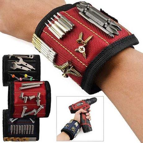Магнитный Браслет для инструментов Magnetic Wristband для мастеров
