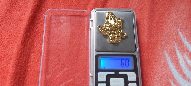Łańcuszek złoty na rękę