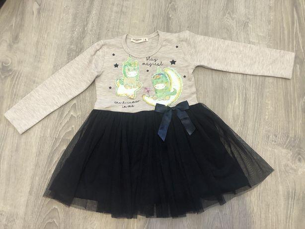 Платье для девочки с фатином