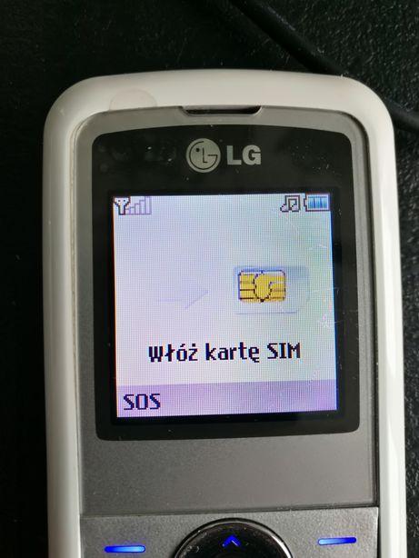 Lg kp100 telefon komórkowy seniora klawisze klawiatura guziki klasyk