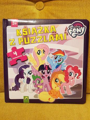 Książka z puzzlami My Little Pony