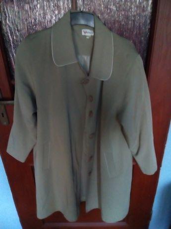 Płaszcz zielony oliwkowy