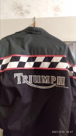 Мото куртка триумф