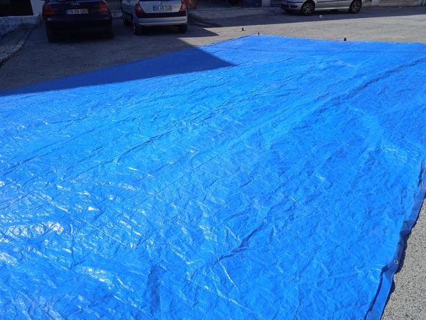 Lona Azul com 50 m2