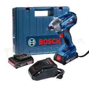 Klucz udarowy Bosch Professional GDS 250 Li akumulatorowy 18V 2 x 3Ah