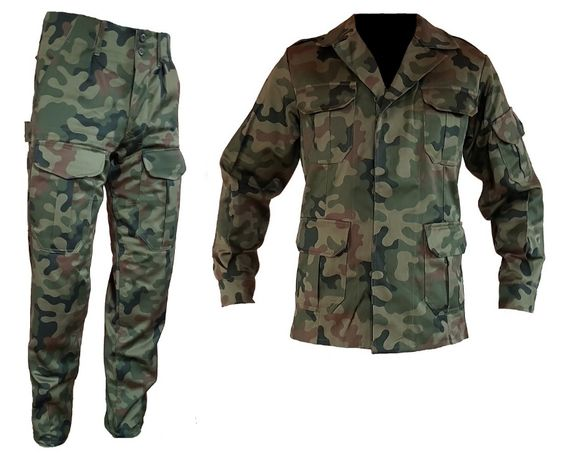 Mundur wojskowy WZ93 moro Spodnie + bluza S-XL NOWY