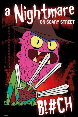 Posters novos Rick and Morty Scary Terry