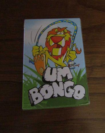 Baralho de cartas um Bongo