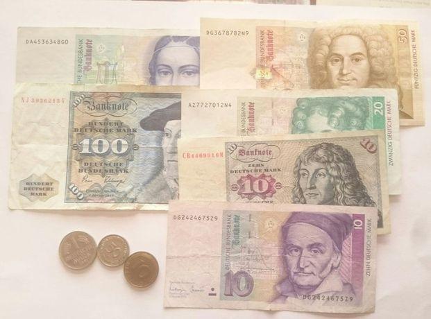 Stare wycofane banknoty korony funty franki marki wymienię na nowe
