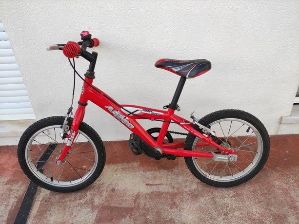 Bicicleta criança roda 16 (4 a 6 anos)