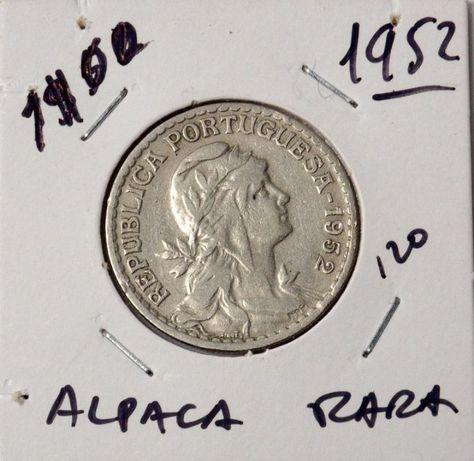 Moeda de 1$00 de 1952