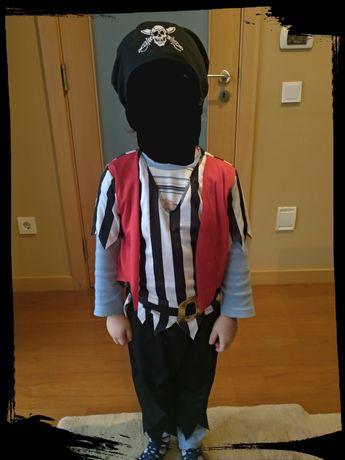 Fato Pirata Criança