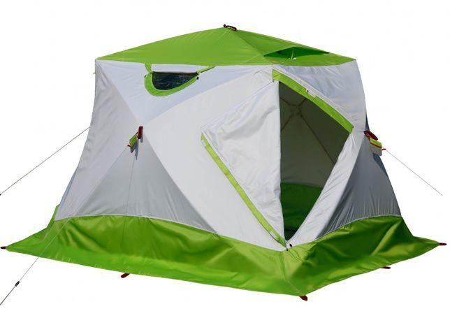 Зимняя палатка ЛОТОС Куб 4 классик Термо (лонг) палатка Снегирь Polard