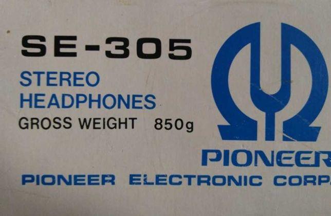 Słuchawki Vintage 1976 rok japan pionier .prawie nie używane.