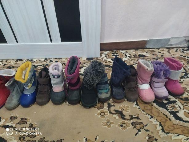 Взуття камік коламбія, екко, сноубутси уги