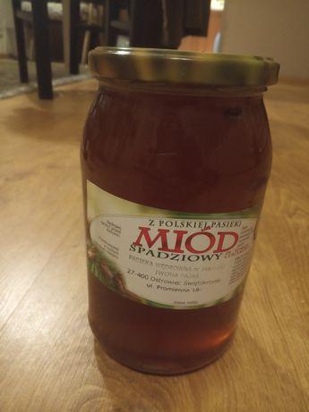 Miód Ze Spadzi Liściastej i inne miody i wyroby pszczelarskie.