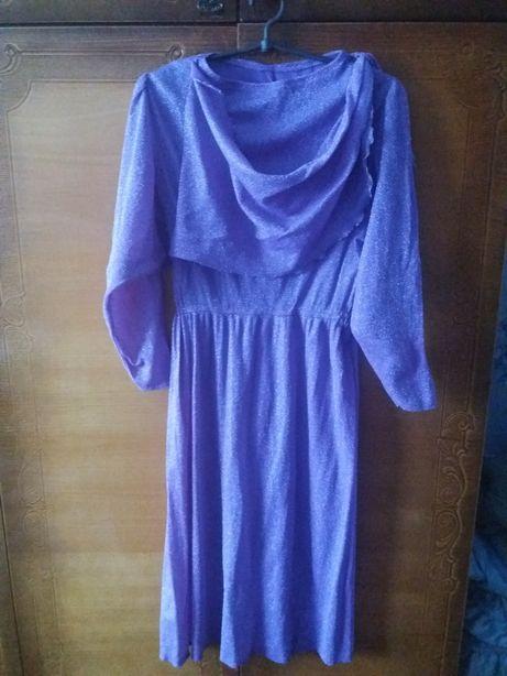 Платье люрексовое