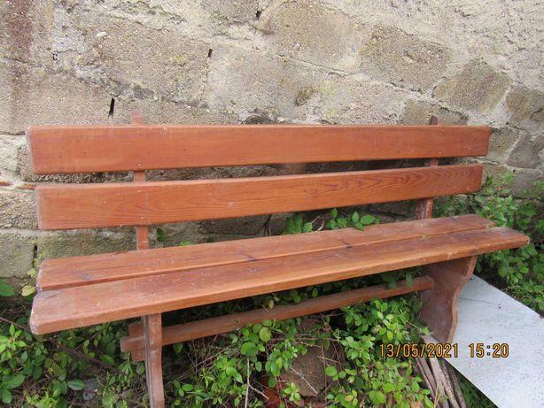 Banco de exterior em madeira nobre 1.80mts