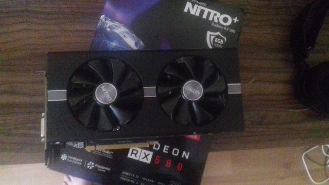 Sapphire Radeon RX 580 NITRO+ 8GB GDDR5 | NIE Z KOPARKI