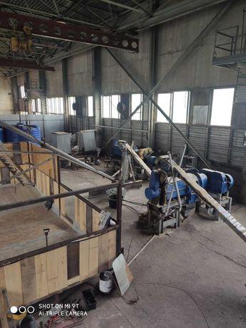 Продається виробнича лінія по переробці сої