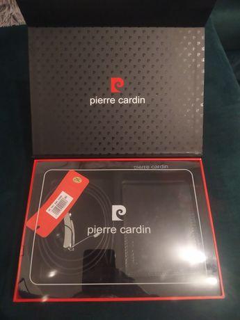 Zestaw Pierre Cardin pasek + portfel