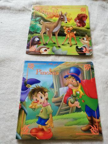 Klasyka Światowa Bambi Pinokio Wydawnictwo Olesiejuk