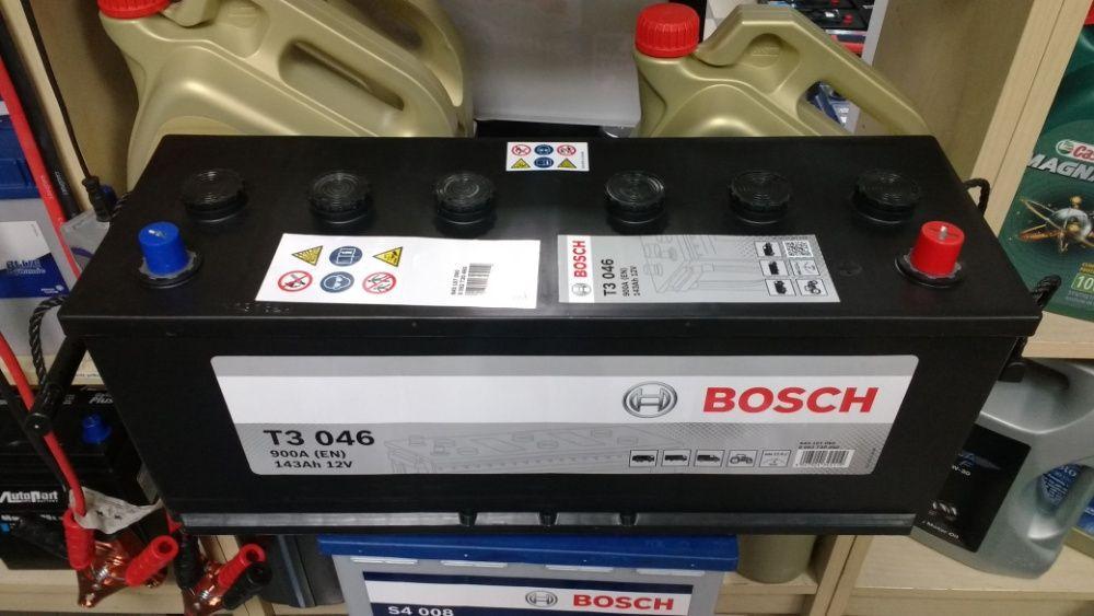 Akumulator Bosch 12V 143Ah 900A 622UR T3046 Yuasa 638 K11 dowóz montaż