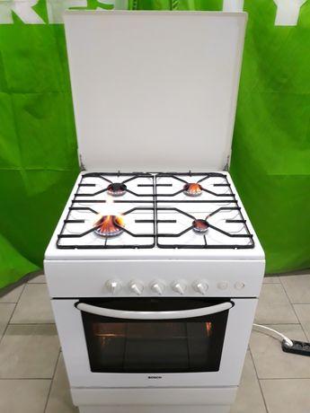 Газовая плита Bosch размер 60/60 поджигом и газ контролем, духовка
