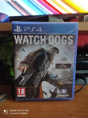 Folia Watch dogs ps 4 pl