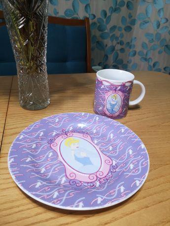 Набор детской посуды Золушка